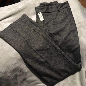 NWT Talbots Wool Blend Trouser Pants Size 12 Long